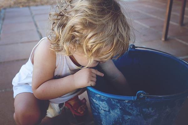 つけおき洗い用の大きな容器