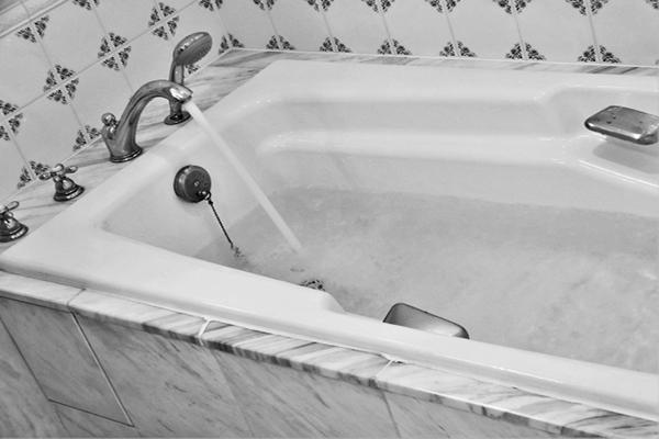 布団の手洗いに使うお風呂