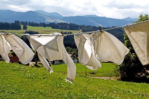 洗濯 干す