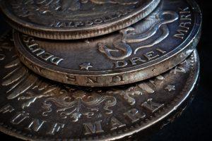 マルク銀貨に見えるレプリカ