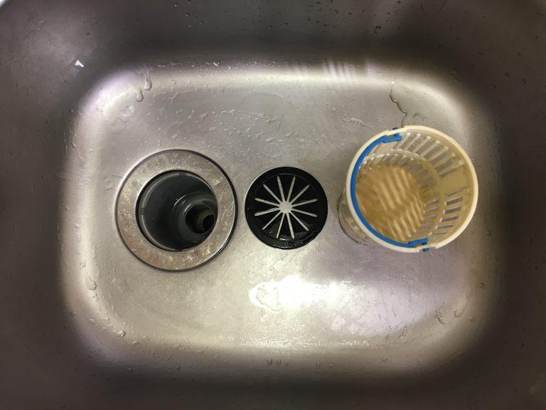 キッチン 排水 溝 掃除
