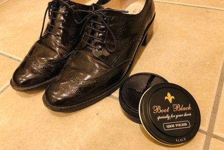 鏡面 磨き 革靴 革靴の鏡面磨きにチャレンジ!鏡のように輝くハイシャインになる磨き方